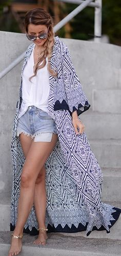 White And Blue Outfit Idea by Annette Haga