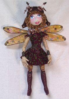 Cloth Doll Patterns by Nancy Hall