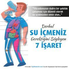 Derhal su içmeniz gerektiğini söyleyen 7 işaret! #sağlık #saglik #sağlıkhaberleri #health #healthnews @saglikhaberleri