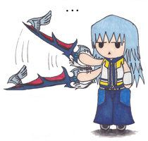 Riku- oh my gush I died laughing.