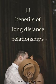 11 Benefits Of Long-Distance Relationships. LDR. Relationship Tips. Elephant on the Road.