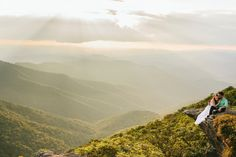 Our engagement photos- Photograpaher: Megan Gielow, MorningWild Photography. Location: Craggy Gardens, NC. elopement venues asheville nc