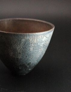 pottery, earthenware, ceramics, ...   ................photo is of a chawan--a Japanese tea bowl - Shinobu Hashimoto