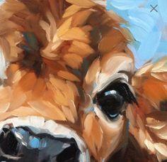 Cow Painting, inch original impressionistic oil painting of a Cow, paintings of cows, cow art Cow Painting, Painting & Drawing, Watercolor Paintings, Acrylic Paintings, Animal Paintings, Animal Drawings, Art Drawings, Realistic Eye Drawing, Cow Pictures