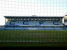 Highfield Road, Coventry City in the Coventry City Fc, Football Stadiums, Take Me Home, Terrace, Blues, The Past, Old Things, Sky, History