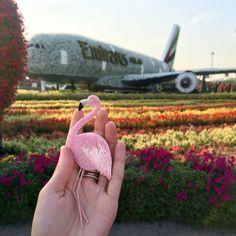 Нежно-розовый фламинго вместе с его хозяйкой улетел в тёплые края   Доступны для заказа фламинго в розовом или коралловом цвете  (2900)
