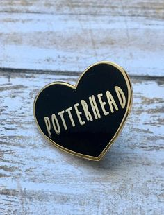 Potterhead pin Harry Potter pin by FandomFlairPins on Etsy