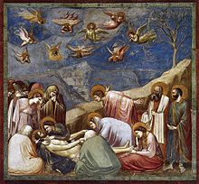 ジョット キリストへの追悼 ルネッサンス期のイタリア絵画