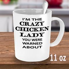 Looking for Crazy Chicken lady mug, lady cup/cups, funny coffee mugs, gifts or birthday gifts? (11 Oz) * You can get additional details at the image link.