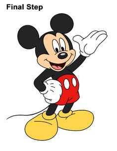 mouse crafts How to Draw Classic Mickey Mouse Full Body Disney Disney Mickey Mouse, Arte Do Mickey Mouse, Mickey Mouse Sketch, Mickey Mouse Crafts, Mickey E Minie, Classic Mickey Mouse, Mickey Mouse Cartoon, Mickey Mouse And Friends, Disney Cars