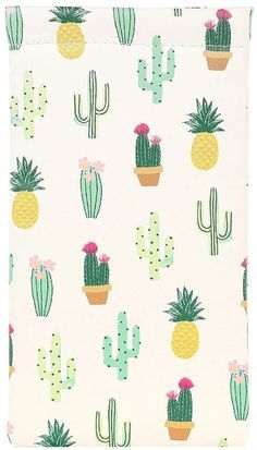 cactus and succulent print & pattern