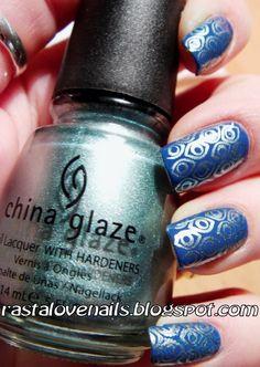 "China Glaze ""Metallic Muse""  & Bundle monster image plate no. 212"