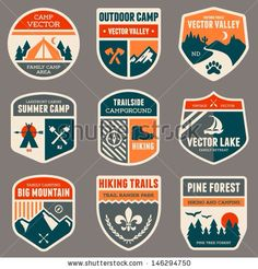 Outdoor Adventure Badges 1
