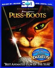 Stay furry, my friends. Watch Puss in Boots starring Antonio Banderas again and again with this two-disc Blu-ray and DVD combo pack. Blu Ray Movies, Hd Movies, Movies And Tv Shows, Movie Tv, Amy Sedaris, Zach Galifianakis, Salma Hayek, Shrek, Jack Y Jill