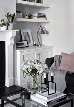 The unusual reason behind my love of grey and white decor… | These Four Walls blog