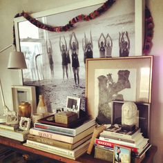 Art & books styling  Jamie Meares Untitled, via Flickr.