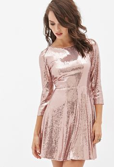 I really want a gold (or this) sequined dress for New Years
