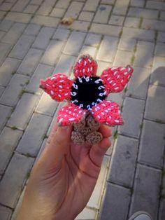Demogorgon Stranger Things Amigurumi Crochet Doll Monster