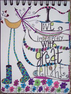 My Brave Soul...: doodled alphas.... More Letter Love 101