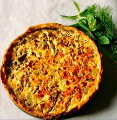 Η πιο νόστιμη τάρτα για το πασχαλινό τραπέζι Cooking&playing Bon Agapi Quiche, Pizza, Cheese, Breakfast, Food, Morning Coffee, Essen, Quiches, Meals