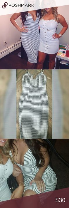 Striped Mura midi dress! Striped Mura midi dress, shareen collection, size 8 Australian fits 4-6 US size, my chest is 34 C and I had an amazing amount of compliments in this dress worn for only a few hours!! Dresses Midi