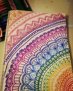 easy zentangle patterns color - Căutare Google