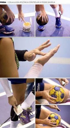 How to use handball wax – the right way.