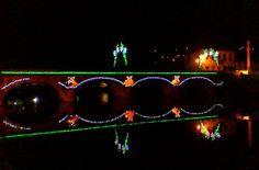 Boa tarde :D A Ponte Velha está como sempre em altura das Festas do Concelho de Arcos de mais bonita