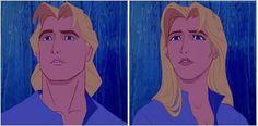 John Smith's girl version is prettier than Pocahontas.
