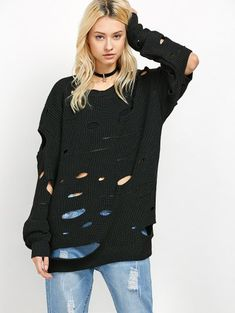 SHARE & Get it FREE | Cut Out Crew Neck SweaterFor Fashion Lovers only:80,000+ Items • New Arrivals Daily Join Zaful: Get YOUR $50 NOW!