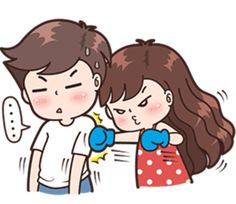 haye kinni lalo laa honi tu nale with a smile on your face😚😚😚cuto meri. Cute Chibi Couple, Love Cartoon Couple, Cute Couple Art, Anime Love Couple, Cute Anime Couples, Cute Cartoon Images, Cute Love Stories, Cute Love Pictures, Cute Love Gif