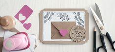 """Hochzeit DIY: """"Save the date"""" Einladung basteln"""