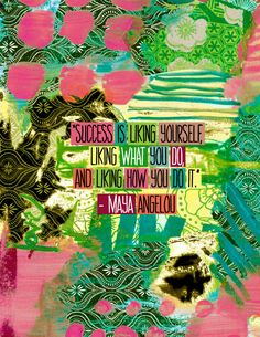 Maya Angelou success quote. Love. #quote #MayaAngelou