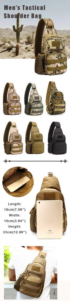 Men's Backpack /Shoulder Bag /Chest Bag