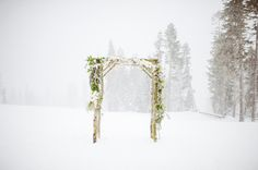 Lake Tahoe winter wedding at @Northstar California by David Newkirk Pohotography, @jiosia designs of Jiosia Design and @Summit Soiree via TahoeUnveiled.com