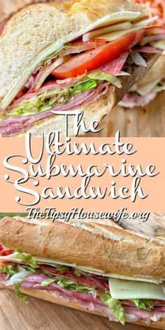 This is the ultimate sub sandwich. Read about my tips and tricks for making a sandwich with the perfect bite. This is the ultimate sub sandwich. Read about my tips and tricks for making a sandwich with the perfect bite. Best Sandwich Recipes, Lunch Recipes, Seafood Recipes, Dinner Recipes, Cooking Recipes, Healthy Recipes, Healthy Food, Sandwich Ideas, Dinner Sandwiches
