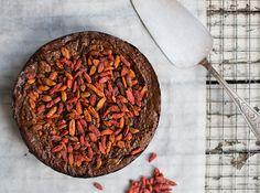 Healthy Chocolate Cake - Madeleine Shaw