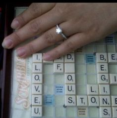Our customers' endearing proposal moment  Ring by Greenwich Jewelers