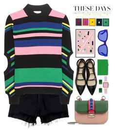 COLOR FASHION DAY by licethfashion on Polyvore featuring mode, J.W. Anderson, rag & bone/JEAN, 3.1 Phillip Lim, Valentino, rooCASE, Laura Ashley, Margaret Elizabeth, Etnia Barcelona and House Of Voltaire