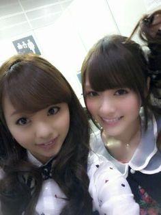 乃木坂46 (nogizaka46) Kawamura Mahiro (川村真洋) Shiraishi Mai (白石麻衣)