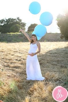 baby gender reveal -- so fun!