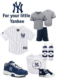 For the little Yankee. Check out the MLB online shop for your teams favorite gear that's fit for any occasion!