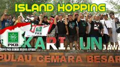 ISLAND HOPPING KE PULAU CEMARA BESAR BERSAMA DPC PKB DEMAK KUDUS JEPARA Vacation Packages, Comic Books, Island, Comics, Islands, Cartoons, Cartoons, Comic, Comic Book