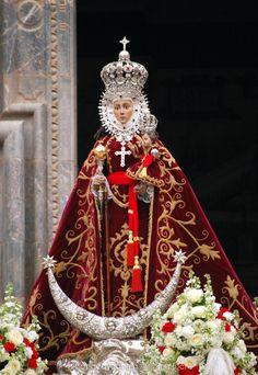 Virgen de la Fuensanta Murcia, Madonna, St Maria, Lady Of Mount Carmel, Lady Of Fatima, Holy Mary, Art Thou, Blessed Mother, Sacred Geometry