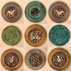 Who said medieval designs arent modern? Introducing our new Arabesque plate collection. Coming this holiday season! Check our shop to make sure you get the arabesque you want. Isnt it time you arabesqued?
