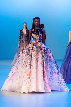 Spring 2014 Couture Fashion Shows - Elie Saab Couture Fashion from Spring 2014 Paris - Harper's BAZAAR
