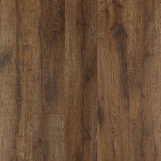 Pergo MAX Premier 7.48-in W x 4.52-ft L Bainbridge Oak Embossed Wood Plank Laminate Flooring