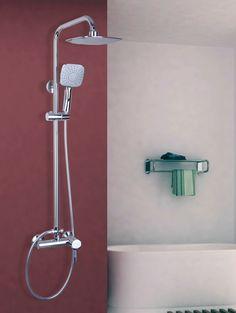 Massage Jets Torneira Bath Mixing Valve Shower Faucet Tub Filler Mixer Tap System Ulgksd Shower Panels Digital Display Shower Equipment