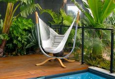 Contemporary Hammock Chair Stand Designs On A Budget Hammock Chair Stand DIY  Is One Of The Best Product Brands For Pleasing You, Especially People Who