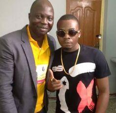 See How Popular Yoruba Comedy Artist Pose With Olamide Badoo